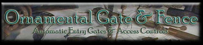 Ornamental Gate and Fence Company Logo