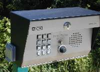 Key Pad With A Push To Call Button